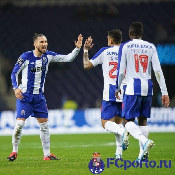 Комментарии игроков «Порту» после домашней победы над командой «Жил Висенте»
