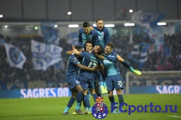 Обзор футбольного матча «Морейренси» - «Порту»