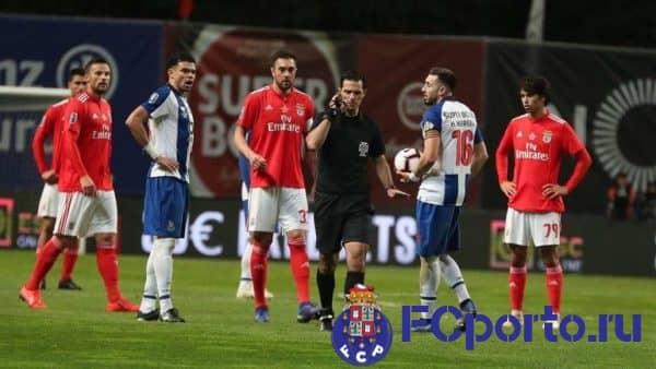 Прогноз на футбольный клуб «Порту» - «Бенфика», 8 февраля 2020 года в 23:30 по мск